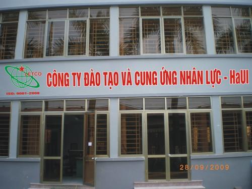 Công ty Đào tạo và cung ứng nhân lực HaUI